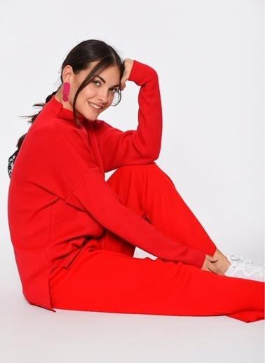 Loves You Triko Pantolon Kırmızı